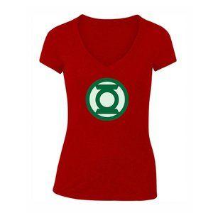 Women's Green Lantern Short Sleeve T-Shirt